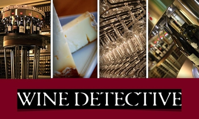 Wine Detective - Pasadena: $10 for a Wine-Tasting Card from Wine Detective ($20 Value)