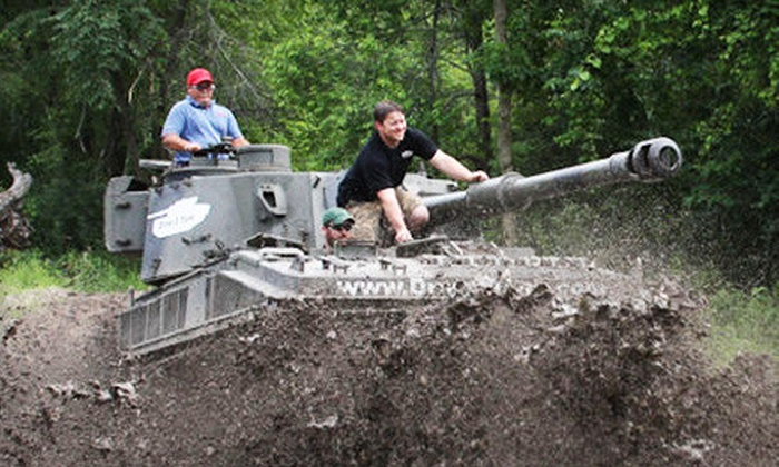 Drive a Tank - Kasota: Tank-Driving Experience for One, Four, or Eight at Drive A Tank in Kasota (Up to 47% Off)