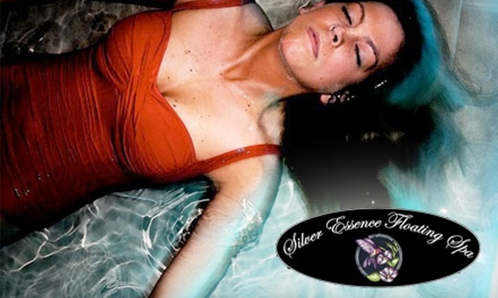 Silver Essence Floating Spa - Williamsville: $30 for a 50-Minute Floating Session at Silver Essence Floating Spa ($60 Value)