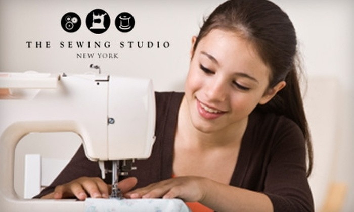 The Sewing Studio - Chelsea: $199 for an Eight-Week Introductory Sewing Program at The Sewing Studio