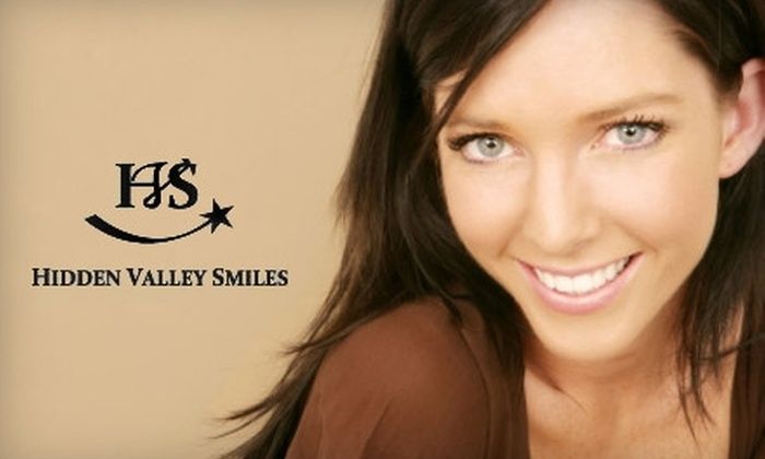 Hidden Valley Smiles - Multiple Locations: $149 for an Exam, X-rays, and Zoom! Teeth Whitening at Hidden Valley Smiles