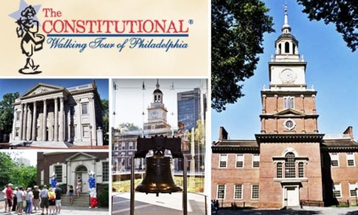 The Constitutional Walking Tour - Multiple Locations: $17 for Two Tickets to The Constitutional Walking Tour