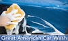 Great American Car Wash - McLane: $8 for a Supreme Wash and Wax at Great American Car Wash