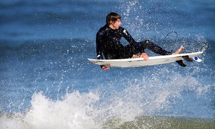 Nor Cal Surf Shop - Linda Mar: $17 for a Full-Day Surfboard and Wetsuit Rental at Nor Cal Surf Shop in Pacifica