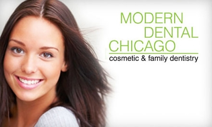Modern Dental on Division - Multiple Locations: $49 for an Exam, X-rays, and a Cleaning at Modern Dental Chicago ($253 Value)