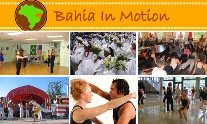 Bahia In Motion - Belltown: Three Beginner Afro-Brazilian Dance Classes for $22