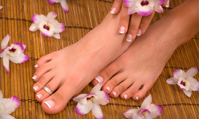 The Magical Touch Salon & Day Spa - Sunnyside: One or Three Basic or OPI Spa Mani-Pedis at The Magical Touch Salon & Day Spa in Sunnyside (Up to 67% Off)