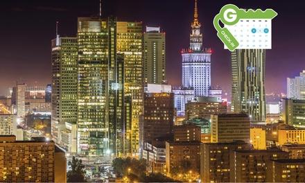 Polska-Warszawa: pobyt dla 2 osób w apartamencie z Fitness Center, Wi-Fi i więcej w Platinum Residence