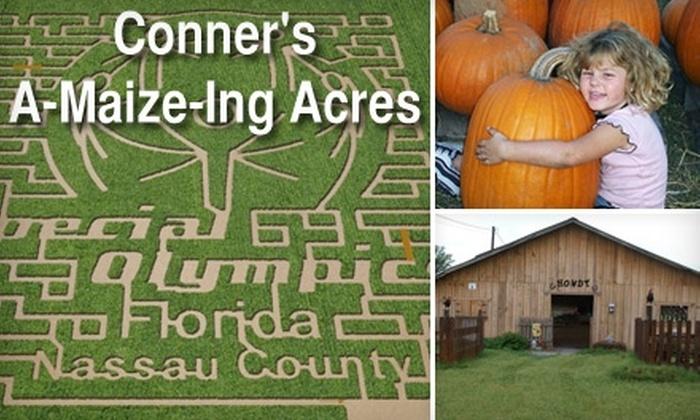 Conner's A-Maize-Ing Acres - Callahan-Hilliard: $12 for Two Tickets to Conner's A-Maize-Ing Acres