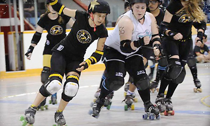 Hammer City Roller Girls - Dundas: $15 for Two Tickets to Hammer City Roller Girls Doubleheader on August 13 at 6 p.m. in Dundas