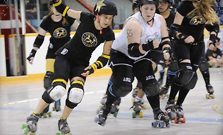 Hammer City Roller Girls: Double-Header on Sat., Aug. 13 at 6:00PM: General Admission Seating - Hammer City Roller Girls in Dundas