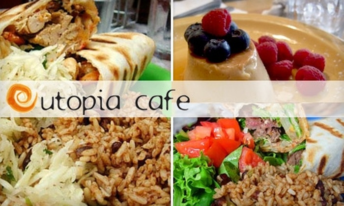 Utopia Cafe - Little Italy: $20 for $40 Worth of Casual Eats and Drinks at Utopia Cafe