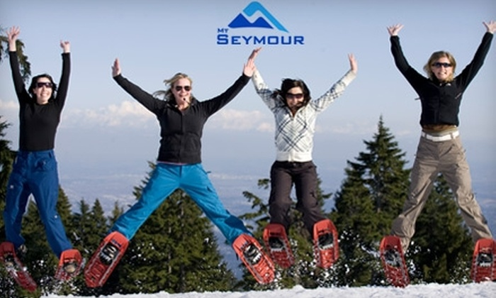 Mt. Seymour Resorts - North Vancouver: $22 for an Adult Lift Ticket (Up to $44.50 Value) or $13 for an Adult Full-Day Snowshoe Trail Pass with Snowshoe Rental (Up to $26.50 Value) at Mt. Seymour Resorts