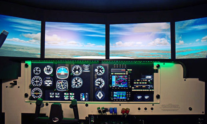 Encore Flight - Northridge: 60-Minute Full-Motion Flight Simulator Session for One or Two at Encore Flight in Van Nuys (Up to 77% Off)