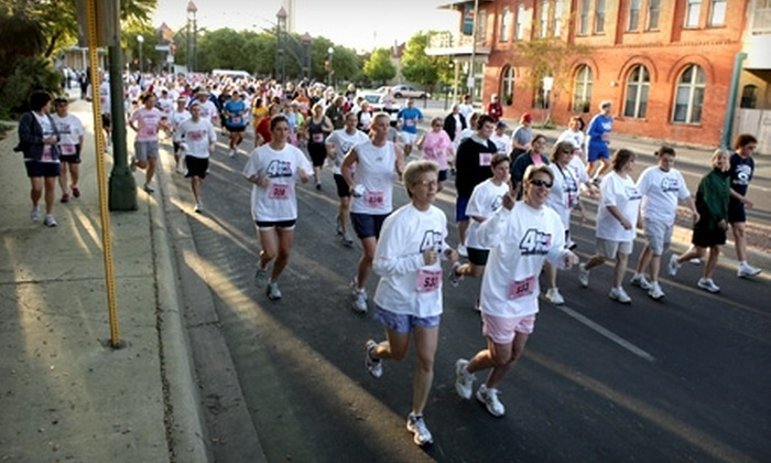 2011 4Kay Run - Speedway: $10 for One Preregistration to 2011 4Kay Run at Indianapolis Motor Speedway ($20 Value)