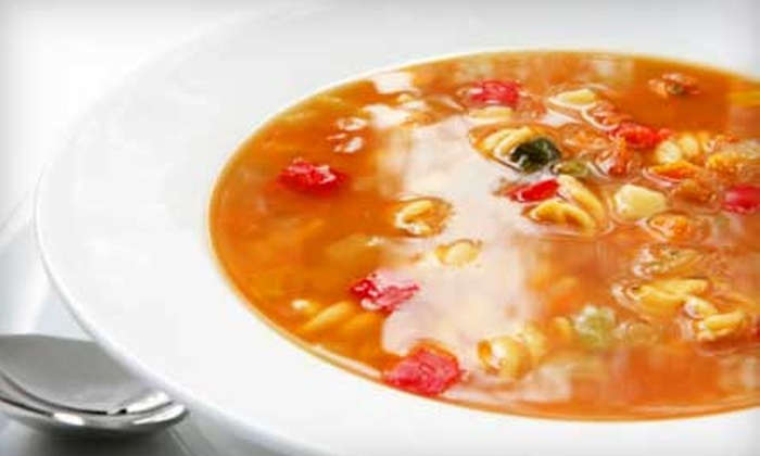 The Stew Pot Kitchen - Downtown Akron: $7 for 2 Quarts of Homemade Soup at The Stew Pot Kitchen ($14 Value)