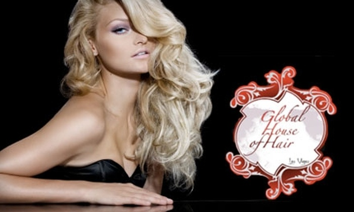 Global House of Hair - Las Vegas: $30 for Haircut, Blowout, and Deep-Reparative Treatment at Global House of Hair (Up to $105 Value)