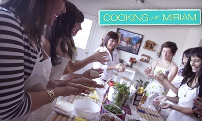 Cooking with Miriam - Rego Park: Half Off Latin Cooking Classes at Cooking with Miriam in Forest Hills. Choose from Five Class Options.
