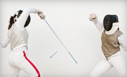 Fencing Experience: Private Lesson & Group Fencing Class For One (up to a $100 value) - New York Fencing Academy in Brooklyn