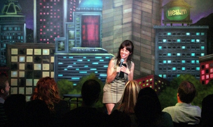 Helium Comedy Club - Hosford - Abernethy: $25 for a Standup-Comedy Package for Two with Drinks at Helium Comedy Club (Up to $62 Value)