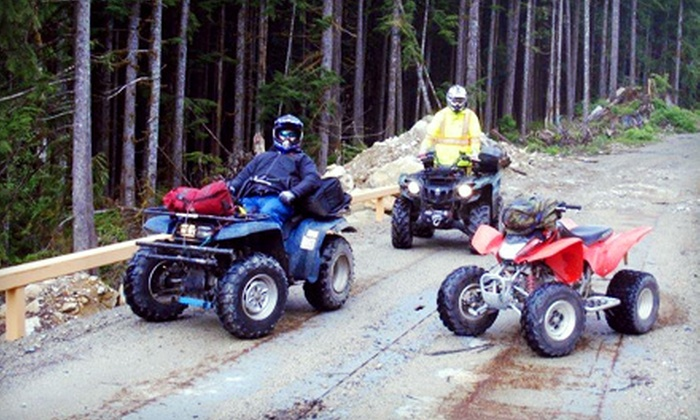 BC Power Sports - Agassiz: Two-Hour ATV Excursion for One, Two, or Four at BC Power Sports in Agassiz