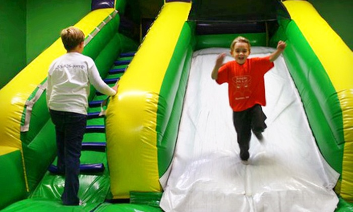 Jumpin Jack & Jill - Sumner: 5 or 10 Open-Play Bounce Sessions Plus 10% Off Home Bounce-House Rental at Jumpin Jack & Jill in Sumner (Half Off)