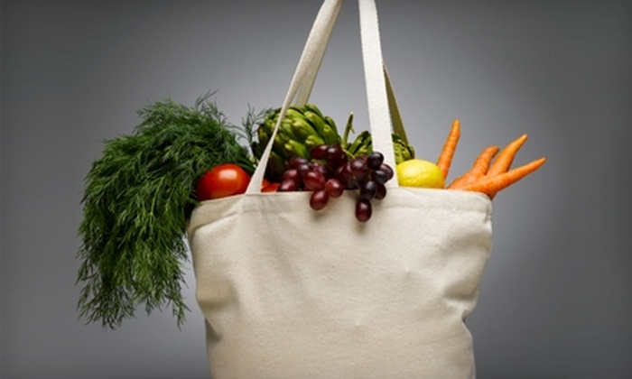 Pure Sprouts Organic Delivery: $25 for $50 Worth of Produce and Organic Groceries Plus Delivery from Pure Sprouts Organic Delivery