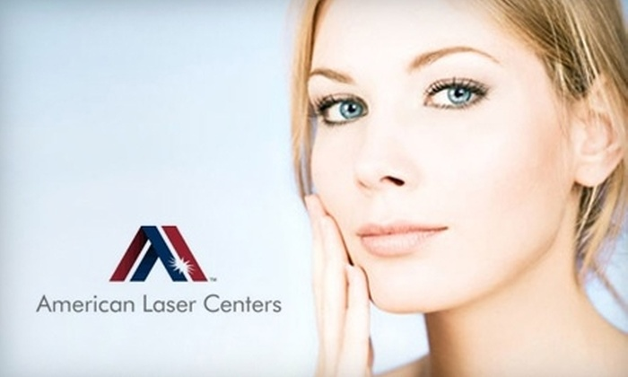 American Laser Centers - Uptown: $49 for Three Ultra-Sonic Facial Treatments at American Laser Centers