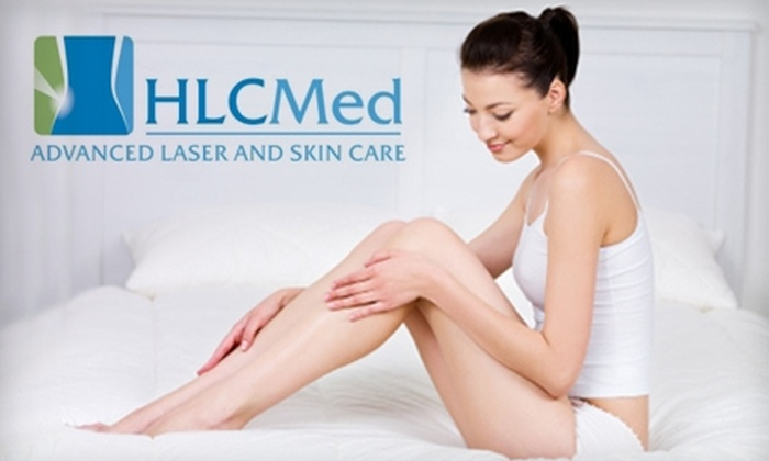 HLC Med Advanced Laser and Skin Care - Multiple Locations: $99 for Three Hair-Removal Treatments or Three Skin Treatments at HLC Med Advanced Laser and Skin Care (Up to $750 Value)