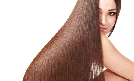 One, Three, or Five Wash and Blowouts at Total Concept Hair Salon (Up to 53% Off)