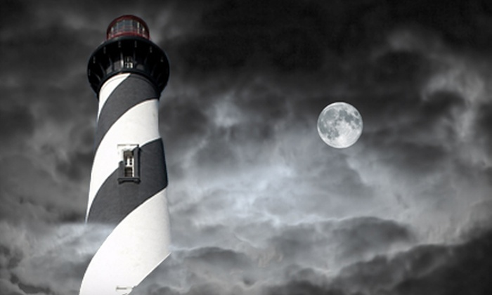 St. Augustine Lighthouse & Museum - Lighthouse Park: Dark of the Moon Paranormal Tour or Admission for Two to the St. Augustine Lighthouse & Museum