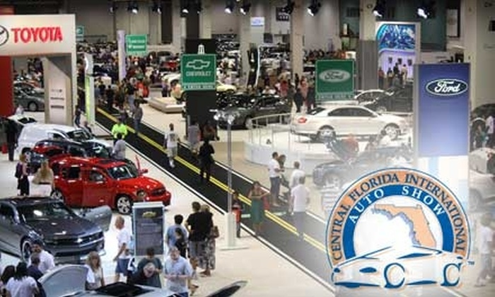 Motor Trend - Southwest Orange: $4 Admission to the Central Florida International Auto Show (Up to $9 Value)