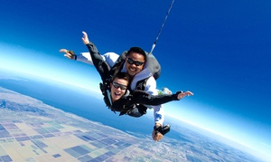 Skydive Spaceland: Tandem Skydive Photo Shoot Package for One, Two, or Four at Skydive Spaceland (Up to 46% Off)
