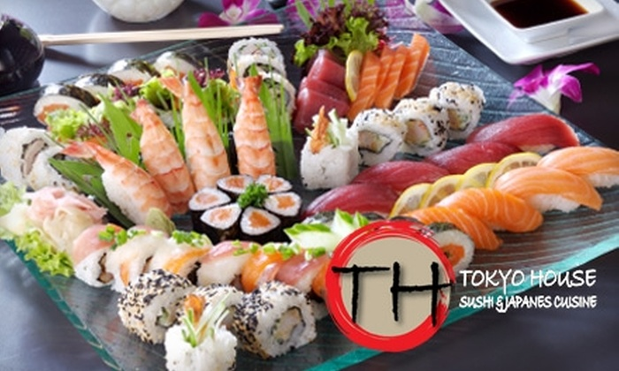 Tokyo House - North Raleigh: $12 for $25 Worth of Sushi, Classic Japanese Cuisine, and Drinks at Tokyo House