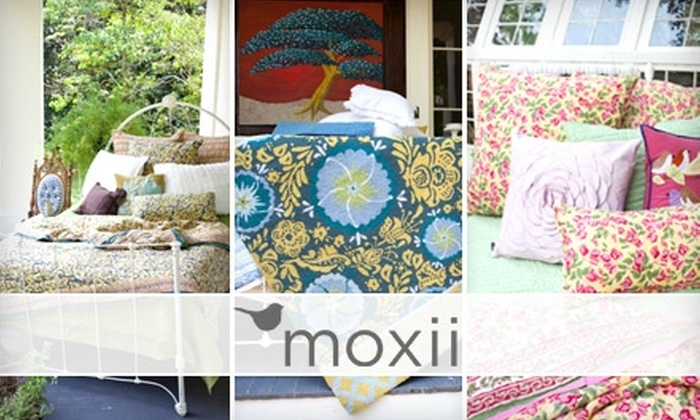 Moxii: $25 for $50 Worth of Bedding, Bath Products, Home Décor, and More from Moxii