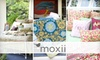 Moxii-National: $25 for $50 Worth of Bedding, Bath Products, Home Décor, and More from Moxii