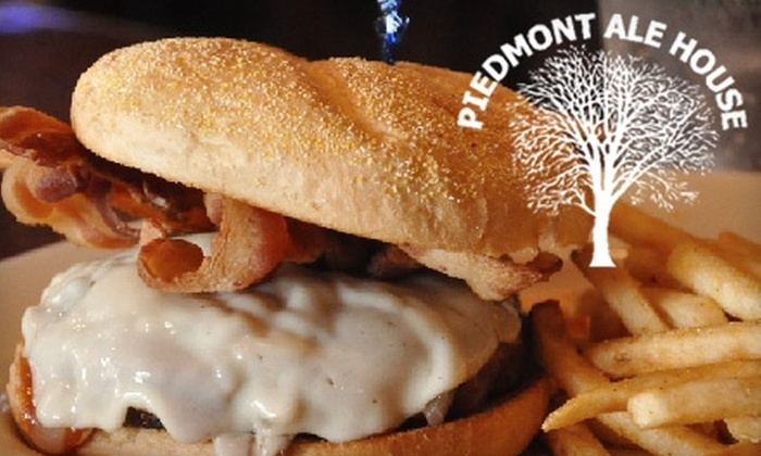Piedmont Ale House - 3, Boone Station: $10 for $20 Worth of Pub Fare at Piedmont Ale House in Burlington