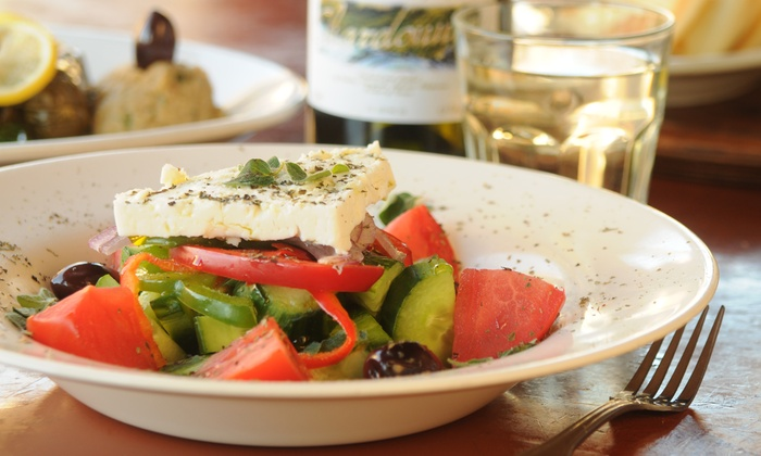 Taverna Opa - Delray Beach: Traditional Greek Cuisine for Lunch or Dinner at Taverna Opa - Delray Beach (Up to 44% Off). Three Options Available.