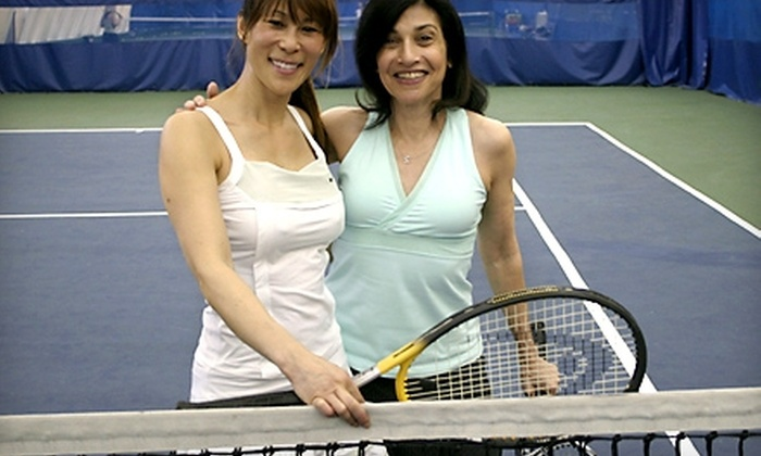 The Club of Riverdale - Riverdale: $70 for Four One-Hour, Beginning Tennis Clinics at The Club of Riverdale ($150 Value)