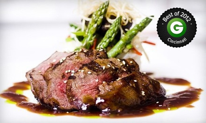 Embers - Cincinnati: $25 for $50 Worth of Steaks, Seafood, and Sushi at Embers