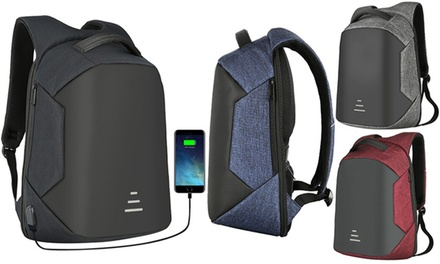 Anti Theft Laptop Backpack with USB Charging Port: One ($29.95) or Two ($49.95)