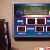 MLB Scoreboard Wall Clock