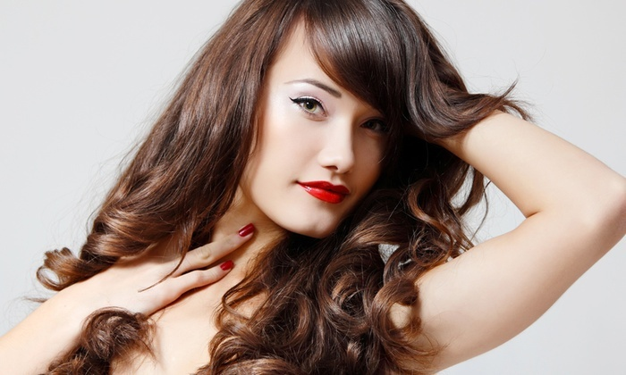 Studio Hair Rebolledo at Salons by JC-Buford - River Club: Up to 62% Off keratin treatment & blowout at Studio Hair Rebolledo at Salons by JC-Buford