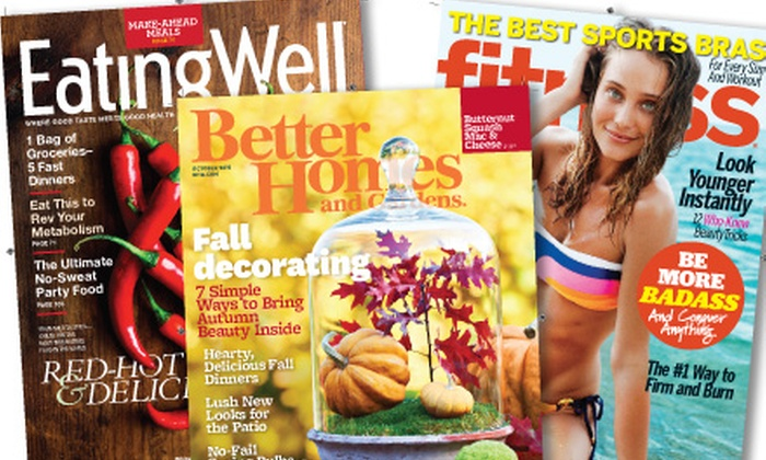 Meredith Corporation: $5 for a Magazine Subscription from Meredith Corporation (Up to $19.97 Value)
