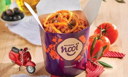 2 cup 920 pâtes classiques et 2 donuts (à emporter ou sur place) à 9,50 € au restaurant Nooï