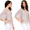 Women's Knitted Poncho Top