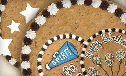 $13 for One 16-Inch Cookie Cake with Artwork from Great American Cookies ($26.99 Value)