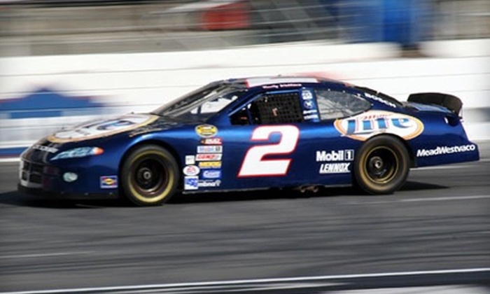 Buck Baker Racing School - Charlotte Motor Speedway: $150 for 15 Laps of Riding and Driving a NASCAR Stock Car at Buck Baker Racing School ($395 Value)