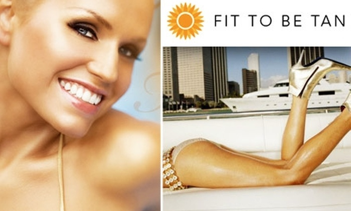 Fit to Be Tan - Lyon Park: $20 for a Full-Body Airbrush Session at Fit to Be Tan in Arlington ($45 Value)