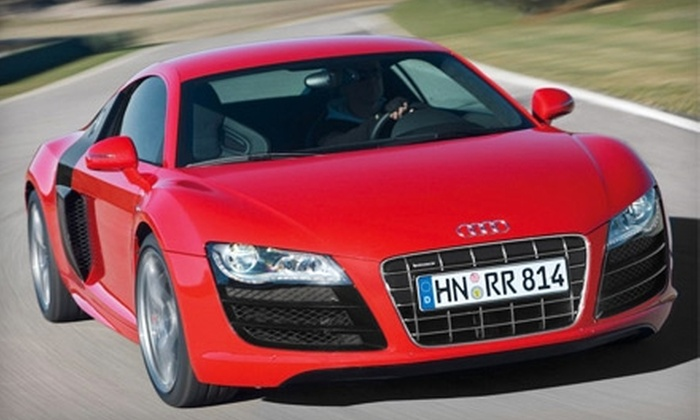 DFW Drive Your Dream - Fort Worth: $129 for a One-Hour Driving Experience in the Audi R8 at DFW Drive Your Dream in Haltom City ($379 Value)
